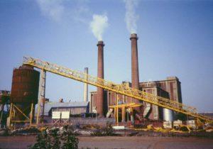 Traitement des déchets à l'usine